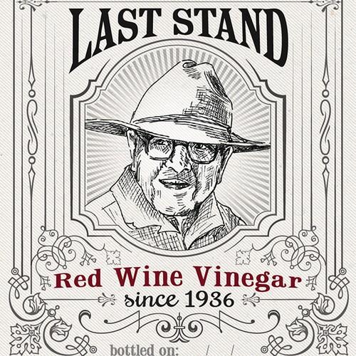 Pappo's Last Stand - Vinegar Label