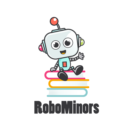 logo concept for robotics education company