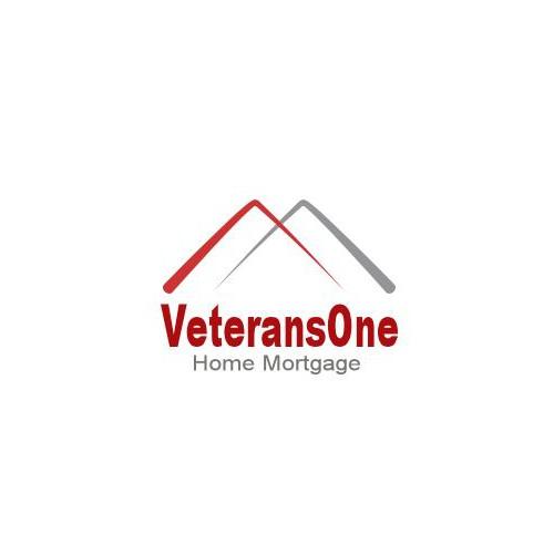 Create a new logo for VeteransOne Home Mortgage