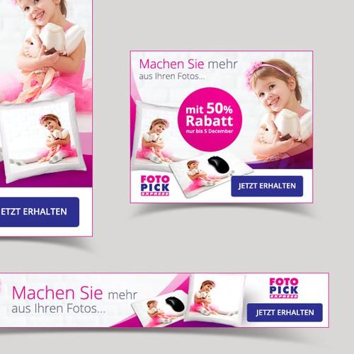 Banner ads design for FotoPick