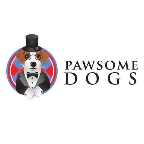 Logo for a Canine Education Center