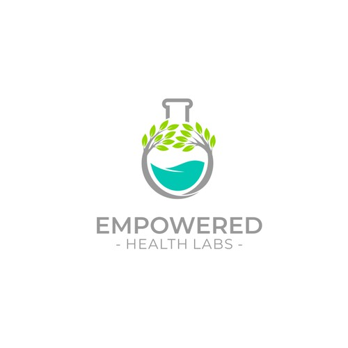 Logo concept for Empowered Health Labs