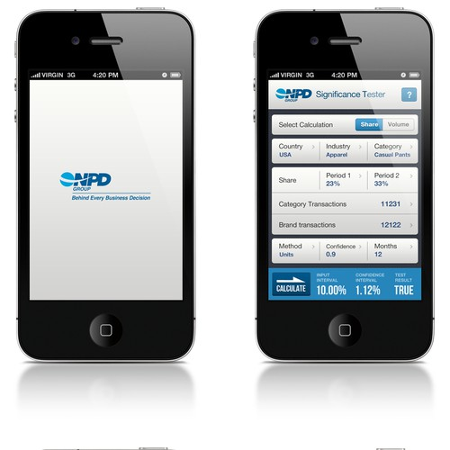 Help the NPD Group design a new mobile app