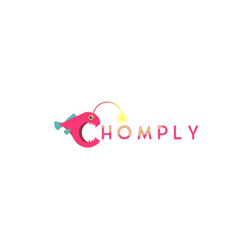 C angler fish logo for chomply