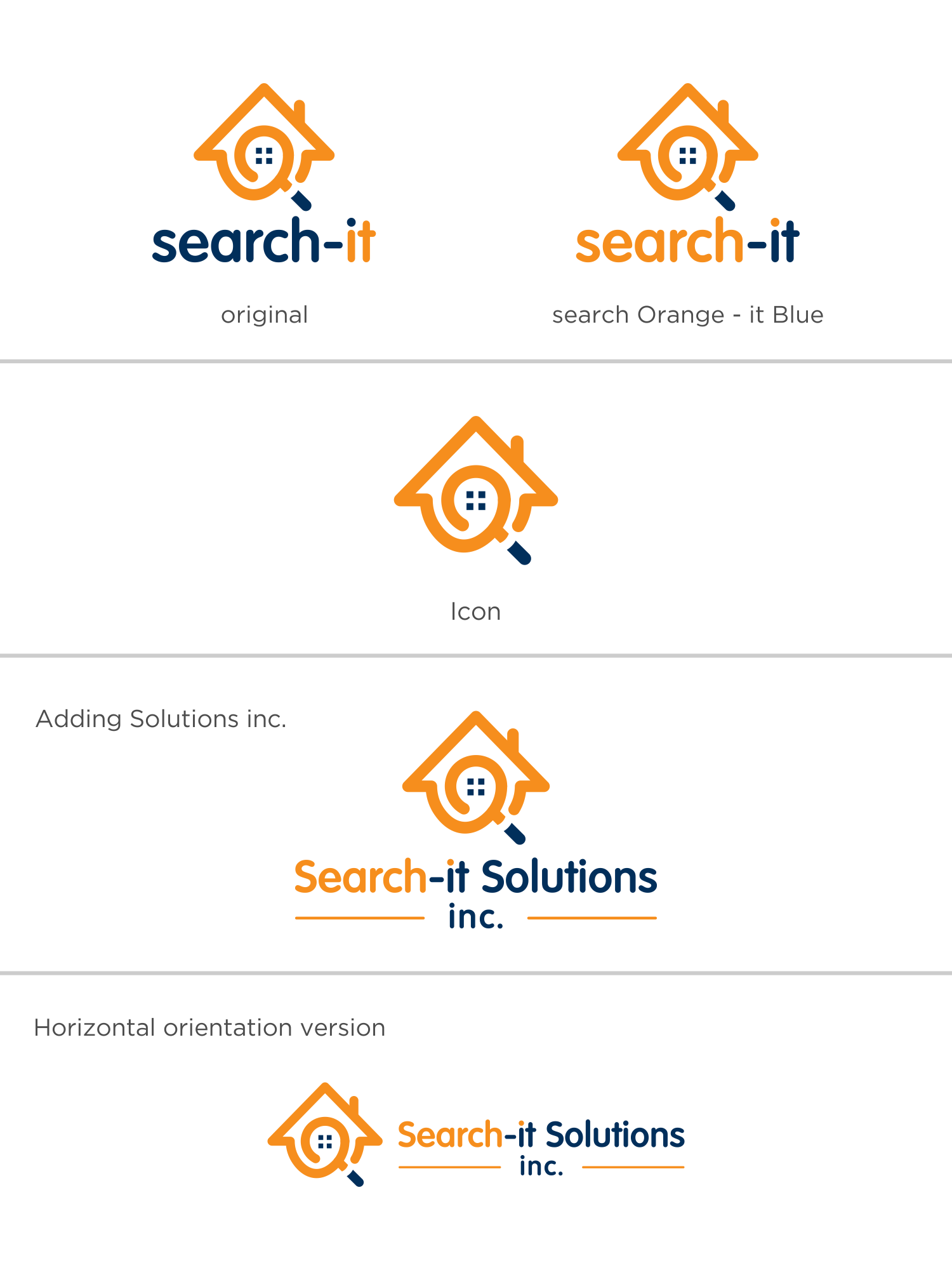 Search-it Solutions, Inc. Logo Contest