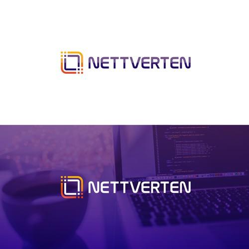 Modern logo for Nettverten