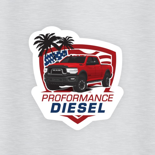 Dodge RAM sticker