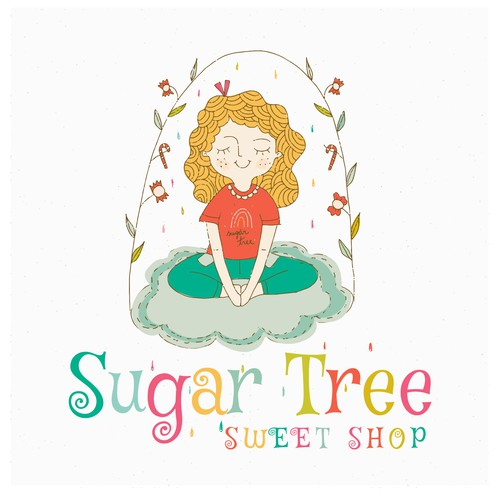 Hand draw Logo for a Sweet Shop