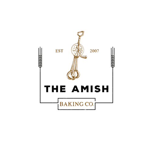 Logo for an amish bakery
