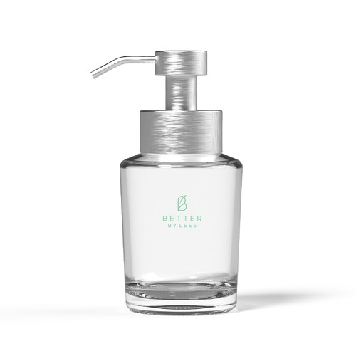 Bottle Design for a sustainable and natural personal care brand
