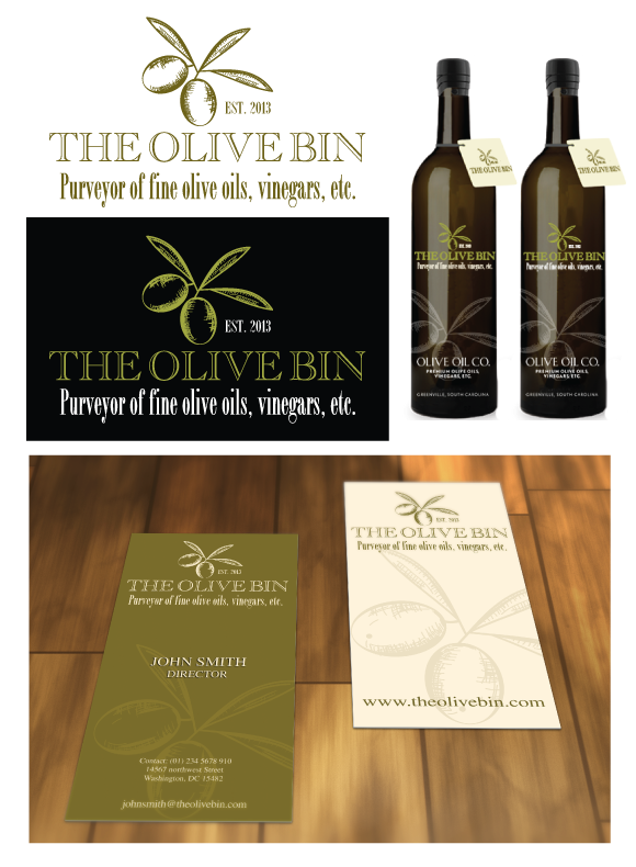 Help the Olive Bin with a new logo