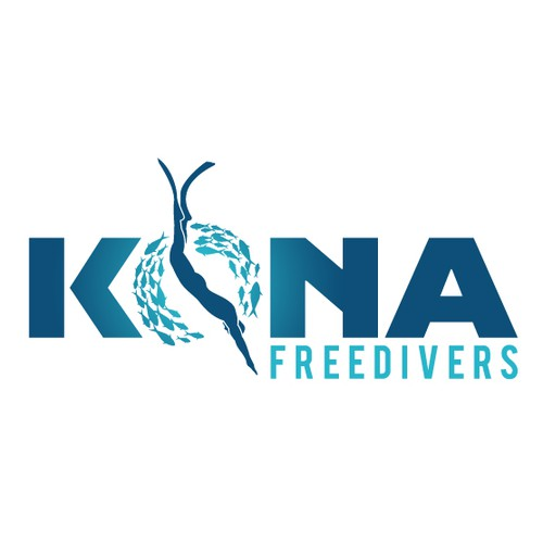 Logo for Diving School in Hawaii