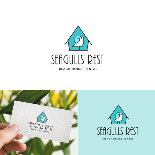 Beach Rental Logo Design