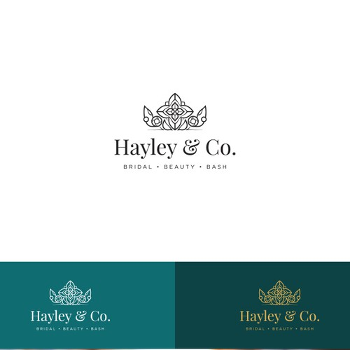 Fun Bridal Hair and Makeup Company Logo