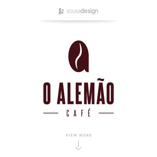 O Alemão Café - Logo Concept