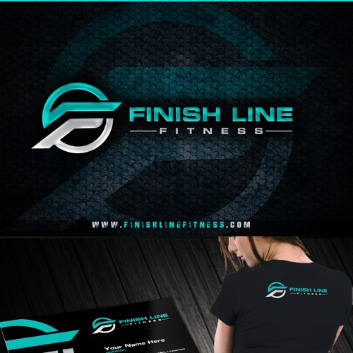 FinishLineFitness Logo