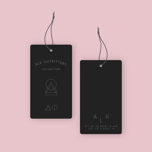 Hangtag Concept for Clothing Store