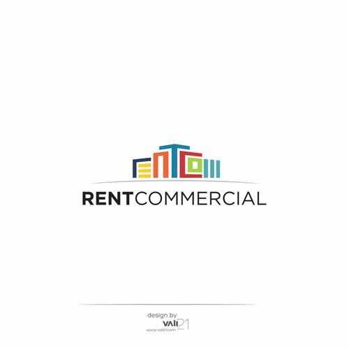 Rent Commercial - real estate logo