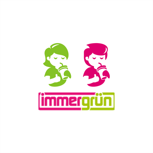 Redesign Immergrun Mascot