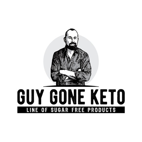 Ketogenic diet logo design