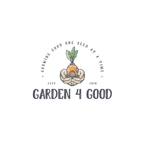 Minimalistic, hand drawn logo for home garden co. that appeals to millennials