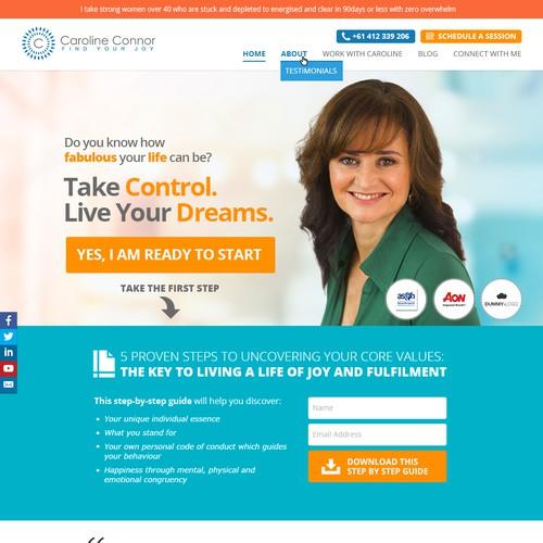 Caroline Connor Website