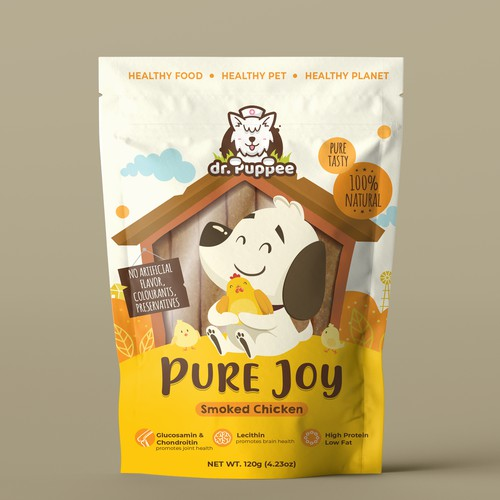 Dr. Puppee Dog Snack