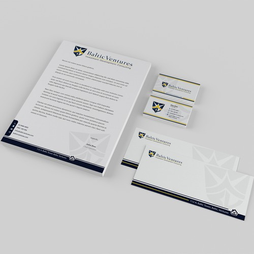 Help Baltic Ventures with a new stationery