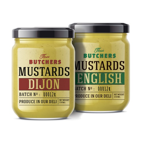 Mustard packaging