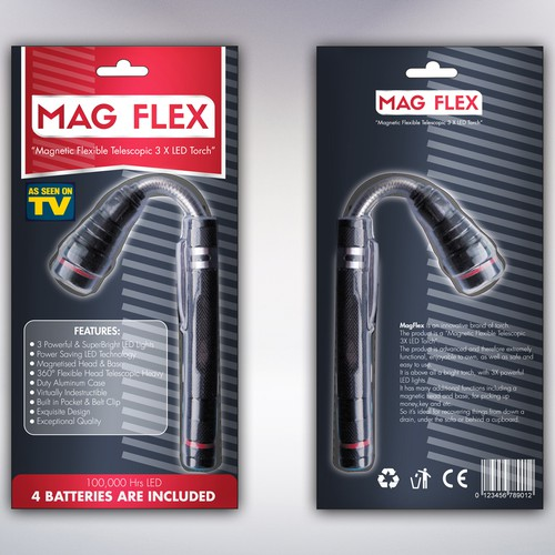 Packaging for Mag Flex