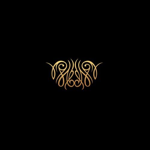 Mantra Healing Stones Logo Design