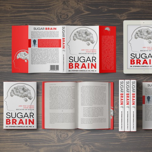 "Book Cover ""Sugar Brain"" Dr. Stephen Conicello, DC, PSc. D"