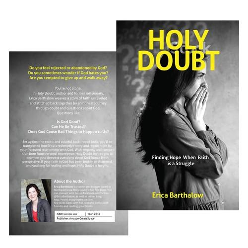 Cover concept for spiritual book