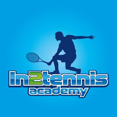 tennis coaching logo design