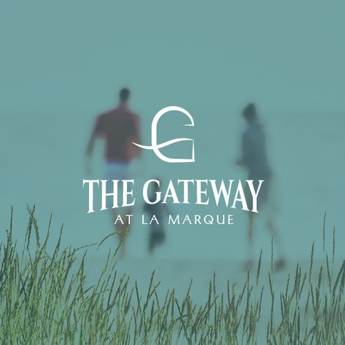 Logo concept for The Gateway at La Marque