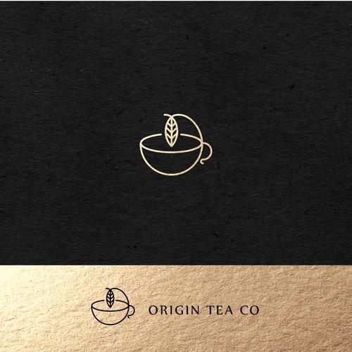 Origin Tea Co Logo Design