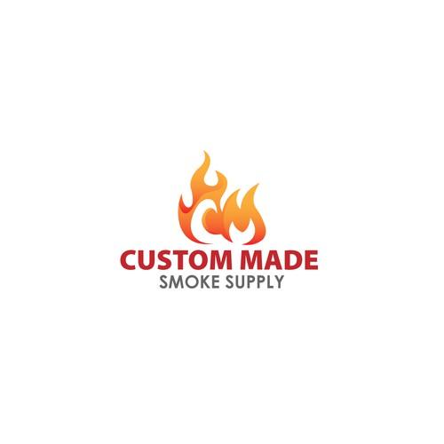Fire Logo Initial
