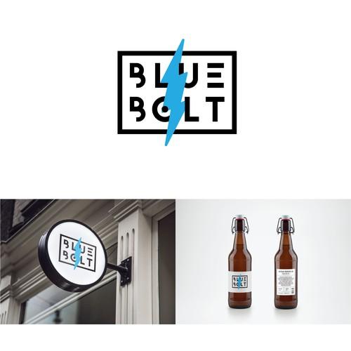 Blue Bolt Brewery Logo