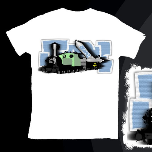Create the most mind bending insane graphic t-shirt for Sane Inc.