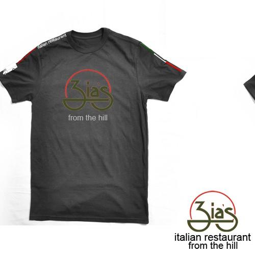 Zia's Restaurant t-shirt design