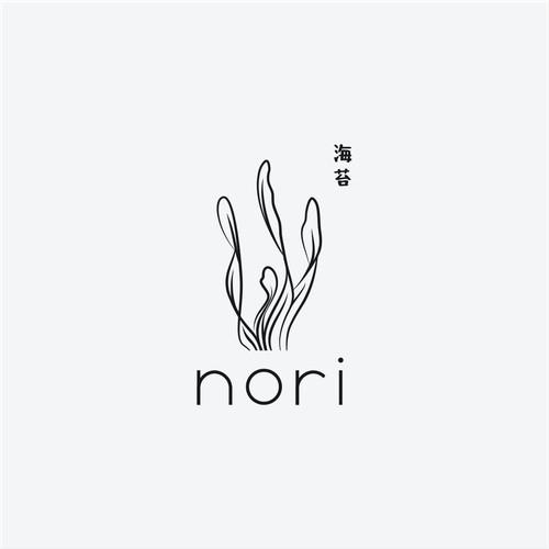 Logo for restaurant vegan sushi.