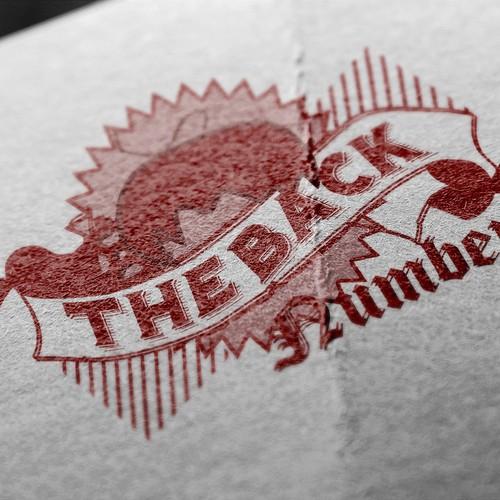 THe Back Number Webpage Logo Design