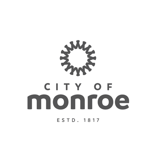 Convergence concept for a city logo