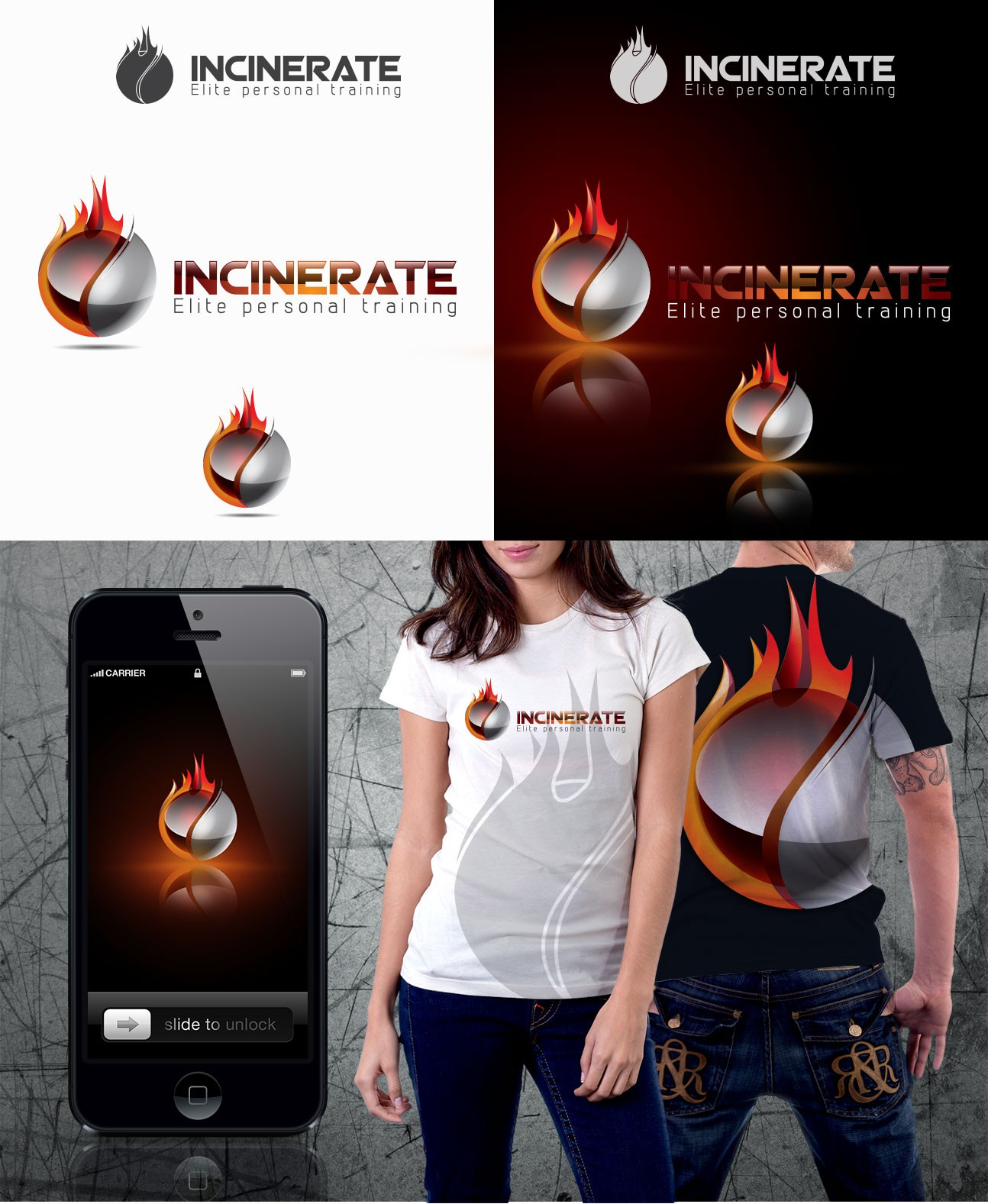 Incinerate  needs a new logo