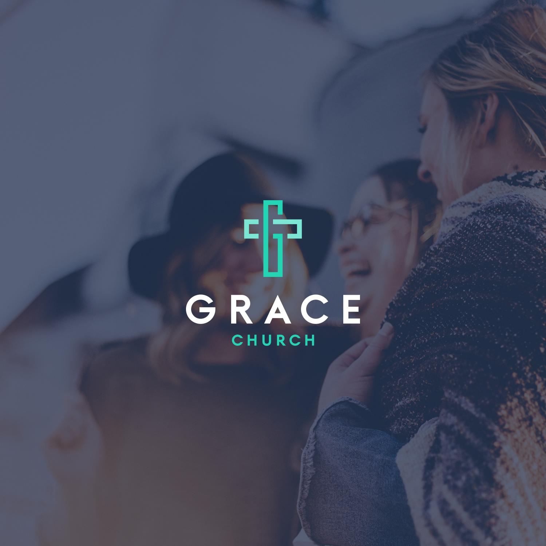 Design a modern logo for a growing church