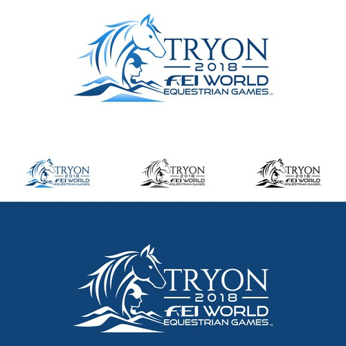 Unique and meaningful logo for The World Equestrian Games