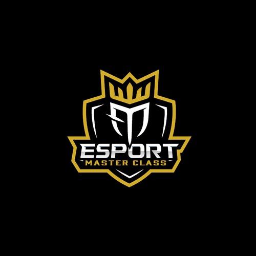 Logo concept for an esports academy