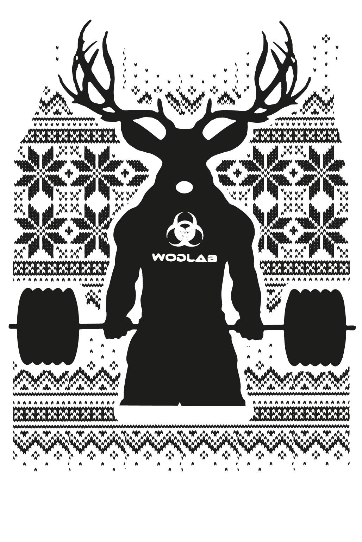 WODLAB Ugly Christmas Sweater
