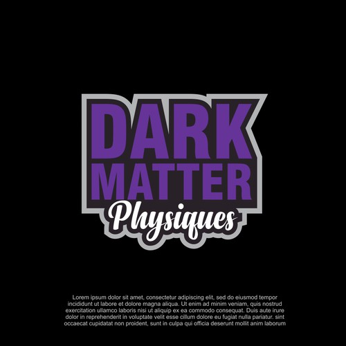 DARK MATTER PHYSIQUES