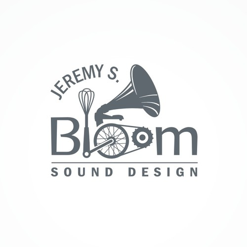 Logo for a sound designer.